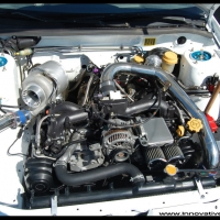 Drag_Subaru_Engine_Bay_Turbo_Impreza