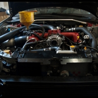 Noel_Subaru_STI_Custom_Rotated_Engine_Bay