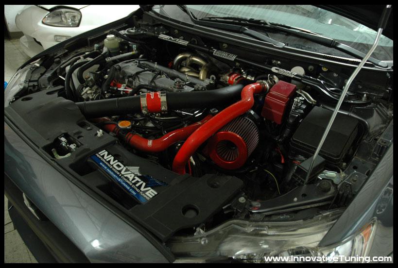 Evo_X_GT35R_Engine_Bay
